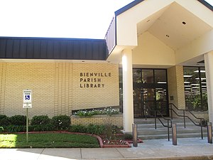 Bienville Parish, Louisiana - Across from the former courthouse is the Bienville Parish Library.