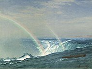 Bierstadt, Albert - Home of the Rainbow, Horseshoe Falls, Niagara.jpg