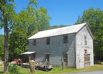 Ayr Township, Fulton County, Pennsylvania - Image: Big Cove Tannery Ayr TWP Fulton Co PA