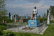 Bilashiv Kovelskyi Volynska-brotherly grave of soviet warriors-general view.jpg