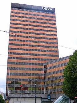 Torre banco de vizcaya wikipedia la enciclopedia libre for Banco bilbao vizcaya oficinas