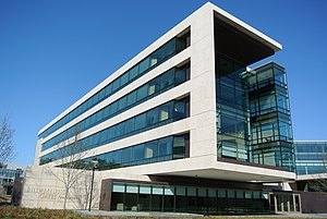 Nonprofit organization - Front building of the Bill & Melinda Gates Foundation in Seattle