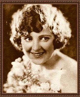 Billie Dove American silent film actress; aviator