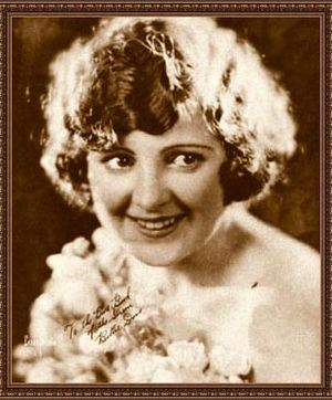 Billie Dove - Publicity photo of Dove from The Blue Book of the Screen (1923)