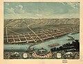 Bird's eye view of Guttenberg, Clayton County, Iowa 1869. LOC 73693397.jpg