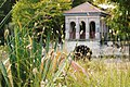 Birkenhead Park Boathouse through the Bullrushes.jpg