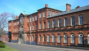 Birmingham Mint - Façade on Icknield Street