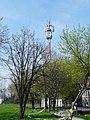 Biskupice Podgórne, maszt przy autostradzie - panoramio.jpg