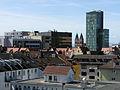 Blick über das Bundesamt für Strahlenschutz zum Hauptbahnhof in Freiburg 2.jpg