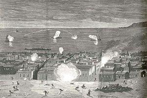 Blockade of Iquique - Image: Bloqueo de iquique 16 julio 1879