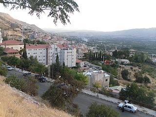 Village in Rif Dimashq Governorate, Syria