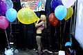 Blowing Balloons at AVN Adult Entertainment Expo 2009.jpg