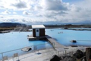 Skútustaðahreppur - Image: Blue Lagoon in Mývatn (1)