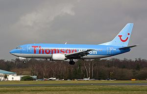 Thomsonfly - Image: Boeing 737 3Q8, Thomsonfly (Britannia Airways) AN0810964