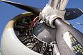 Boeing B-17G-85-DL Flying Fortress Nine-O-Nine LInboardEngine Close CFatKAM 09Feb2011 (14797235119).jpg