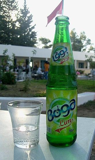 Boga (soft drink) - Image: Boga lemon tunisienne
