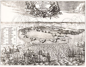 Great Northern War - The bombardment of Copenhagen, 1700