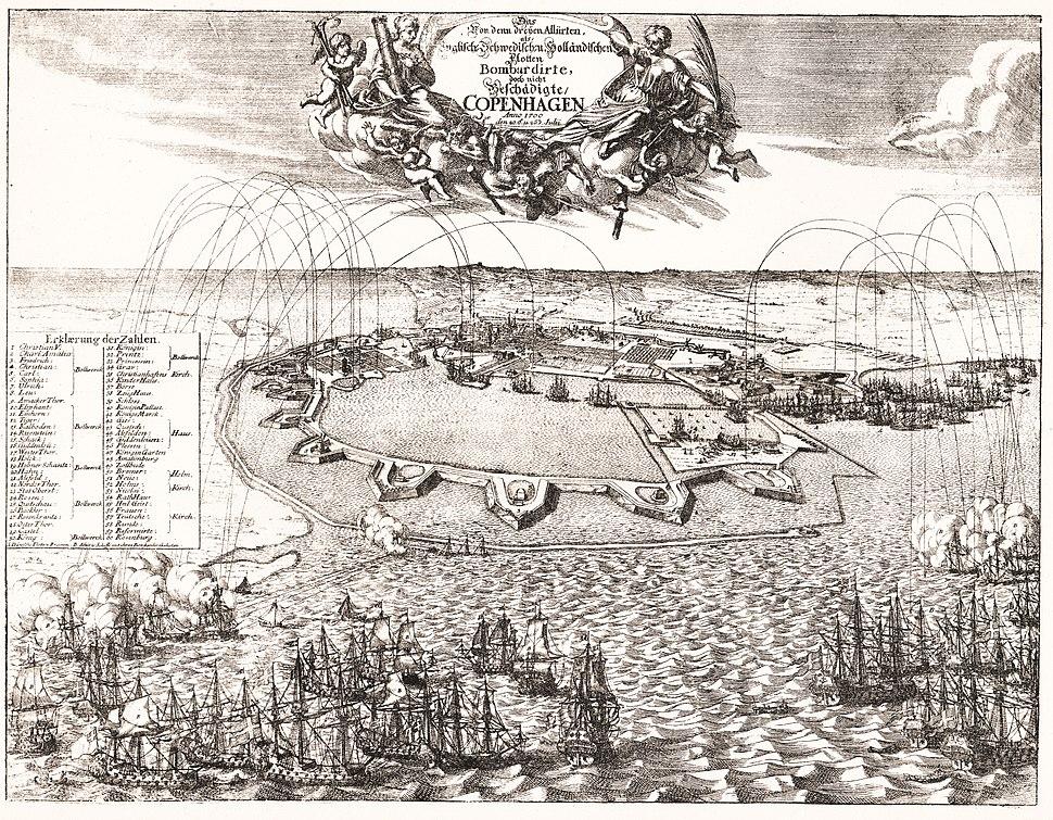 Bombardementet af København 1700