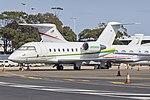 Bombardier CL-600-2B16 Challenger 604 (N604AU) at Sydney Airport.jpg