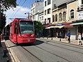 Bombardier Flexity Swift A32 on Yeniçeriler Caddesi.jpg