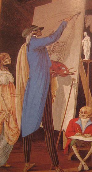 Paolo Vincenzo Bonomini -  The Painter by Paolo Vincenzo Bonomini