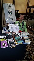 BookSwapping at Wikimania 2018 20180722 151806 (29).jpg