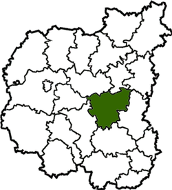 Raion location in Chernihiv Oblast