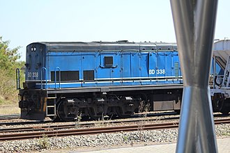 Botswana Railways - Image: Botswana Rail Express train