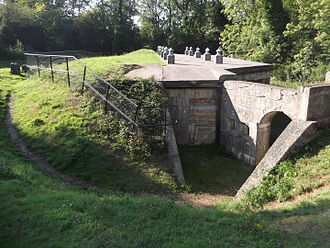 London Defence Positions - Box Hill Fort.