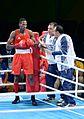 Boxing at the 2016 Summer Olympics, Sotomayor vs Amzile 2.jpg