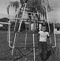 Boy in front of jungle gym, 1967.jpg
