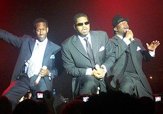 Boyz II Men - Boyz II Men performing at Vega, Copenhagen.