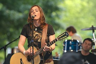 """Brandi Carlile - Her song """"The Story"""" became her first single to reach No. 1 (in Portugal)."""
