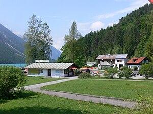 Breitenwang - Image: Breitenwang Am Plansee 1