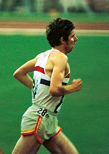 Brendan Foster Athletics competitor, long distance runner