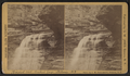 Bridal Veil, Central Gorge, by Tallman, C. W., 1833 - 1896.png
