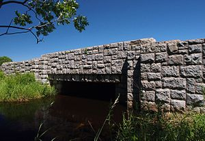 National Register of Historic Places listings in Mille Lacs County, Minnesota - Image: Bridge 3355