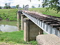 Brisbane Valley Rail Trail Harlin Rail Bridge 2011.JPG