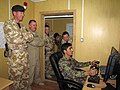 British Brigadier visits Afghan English Immersion Lab (4940848075).jpg