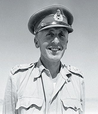Brian Horrocks - Lieutenant General Horrocks commanding XIII Corps in North Africa