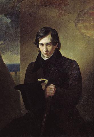 Nestor Kukolnik - Nestor Kukolnik - portrait by Karl Briullov.