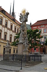 Holy Trinity column in Brno