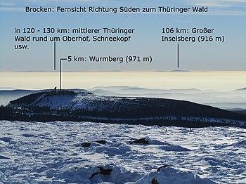 Brocken Reiseführer Auf Wikivoyage