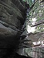 Broken Rock Falls (Old Man's Cave Gorge, Hocking Hills, Ohio, USA) (34033159684).jpg