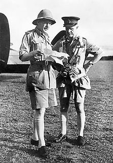 Robert Brooke-Popham senior commander in the Royal Air Force, previously served in the Royal Flying Corps