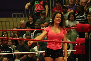 Brooke Tessmacher American model and professional wrestler