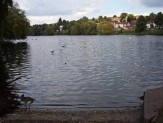 Brookvale Park Lake A lake in Birmingham, England