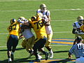 Bruins on offense at UCLA at Cal 2010-10-09 25.JPG