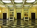 Bucuresti, Romania, Palatul Regal (Muzeul National de Arta al Romaniei - Pavilionul Sala Tronului - interior 2 ); B-II-m-A-19856.JPG