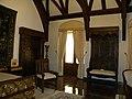 Bucuresti, Romania. MUZEUL NATIONAL COTROCENI. Dormitor imperial-detaliu. (B-II-a-A-19152).jpg